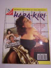 MAGAZINE EROTIQUE , SEXY , HARA - KIRI N° 304 , JOURNAL TRES BETE , TRES MECHANT