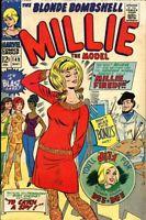 MILLIE THE MODEL - 1967 Marvel comic book #149 - MILLIE - FIRED? PAPER DOLLS!