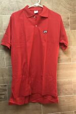 Vintage MAXELL XL-S Cassette Tape Polo Shirt (80s) Red Sz L