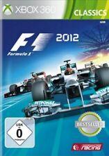 Xbox 360 fórmula uno f1 2012 formula 1 alemán impecable