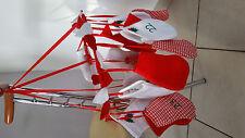 Calendrier de l'avent forme chaussons Décoration NOEL rouge et blanc