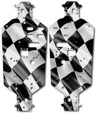Redcat Volcano - Chassis Plate Protector Kit - Checkered Flag