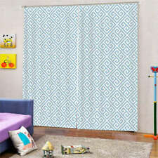 Ordinary Room Patterns 3D Curtain Blockout Photo Printing Curtains Drape Fabric