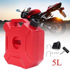 5L Red Plastic Garden Camping Caravan Water Carrier Fluid Jerry Can  UK I
