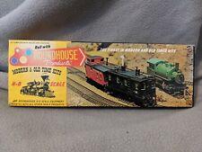 Roundhouse HO Scale 50' Unlettered Passenger Car 5001 CIB Vintage Old Timer