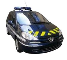 Coches, camiones y furgonetas de automodelismo y aeromodelismo azules, Peugeot, Escala 1:43
