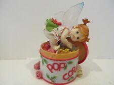 """My Little Kitchen Fairie"""" Popcorn Tin Fairie"""" Figurine"""