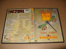 Yes House Of Yes Live From House Of Blues 2000 dvd Ex + Condition Region 2