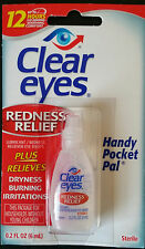 Clear eyes Redness Relief Eye Drops 0.2 fl oz (6 ml)