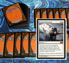 mtg WHITE WEENIE DECK Magic the Gathering rare cards Devout Invocation