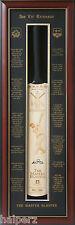 Blazed In Glory - Sir Viv Richards - Hand Signed & framed cricket Bat