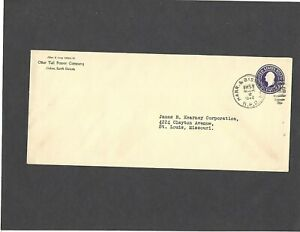 1940 OTTER TAIL POWER COMPANY,OAKES,N.DAK.to ST.LOUIS,MO ADVERTISING COVER