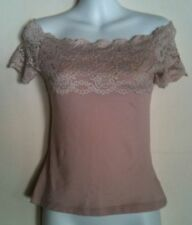 Off-Shoulder Sleeve Lace Tank, Cami Tops for Women