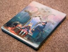 NI NO KUNI II 2 STEELBOOK CASE + POSTCARDS MAKING OF BLU-RAY KING'S EDITION NEW