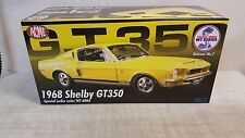 ACME 1:18 1968 SHELBY GT350 - SERIES 2 - YELLOW - SPC ORD: WT6066 - CASE NEW!!!