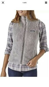 patagonia fleece Gray vest large Womans