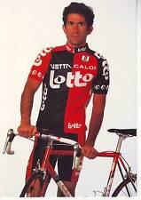 CYCLISME carte cycliste MAURO RIBEIRO équipe LOTTO 1994
