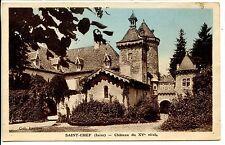 CP 38 ISERE - Saint-Chef - Château du XVe siècle
