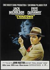 Chinatown Jack Nicholson Faye Dunaway movie poster print 5