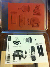 Stampin Up Patterned Occasions Stamp Set NEW, RETIRED