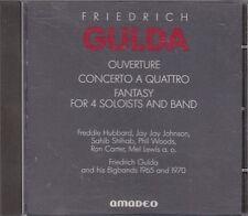 FRIEDRICH GULDA - ouverture concerto a quattro CD