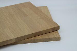 19 mm Eiche Massivholzplatte Tischplatte keilverzinkt Wunschzuschnitt kostenfrei