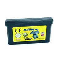 Monstres et compagnie Monsters Inc Jeu Nintendo Game Boy Advance Cartouche PAL
