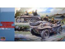 Hasegawa 1/72 Schwimmwagen & Kettenkrad Armor Plastic Model # 31113