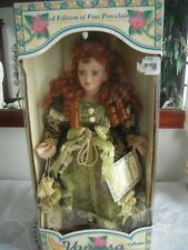 Limited edition Vanessa Fine porceline Doll