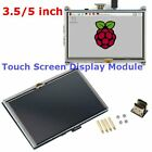 3.5/5-inch Resistive Touch Screen LCD Display HDMI for Raspberry Pi XPT2046 V6
