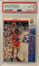 1993 Michael Jordan Upper Deck #198 PSA 8 NM-MT GOAT HOF