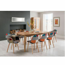 Oak Up to 8 Seats Rectangular Table & Chair Sets