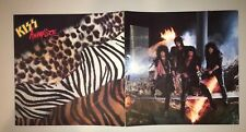 KISS Animalize Mark St. John Eric Carr Promo Double LP Flat LITHOGRAPH POSTER