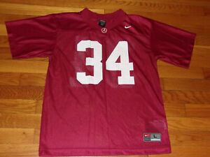 NIKE ALABAMA CRIMSON TIDE FOOTBALL JERSEY BOYS LARGE 14-16 EXCELLENT CONDITION