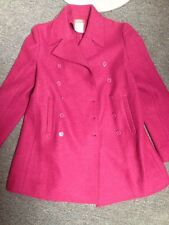 Esprit Jacket Size Small Fuchsia Pink Purple Color Coat