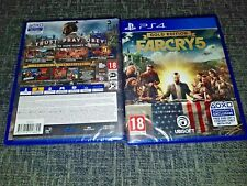 Far Cry 5 Gold Edition Sony PlayStation4/PS4 Game New&Sealed Season Pass-All DLC