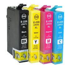 5x Generic Ink Cartridge E-220XL fits for Epson WF2630 WF2750 WF2760 XP320 XP324