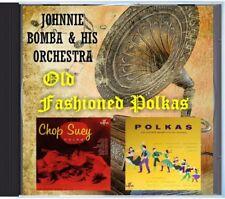 Johnnie Bomba & His Orchestra -  Old Fashioned Polkas - MZ 145 POLKA CD