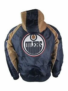 Edmonton Oilers NHL G-III Men's Full-Zip Hooded Winter Jacket