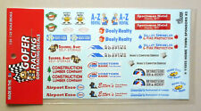 HOME TOWN SPONSORS #3 1:24 1:25 GOFER RACING DECALS CAR MODEL ACCESSORY 11055