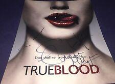 TrueBlood Cast Stephen Moyer Anna Paquin Sam Trammell Signed 11x14 Photo W/COA