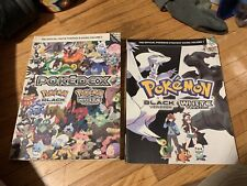 Pokemon Black And White Guide Book Set (2books)