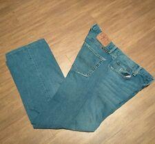 Lucky Brand Slim Skinny Bootleg Blue Jeans Button Fly OL REFLEX Men's sz 34 x 28