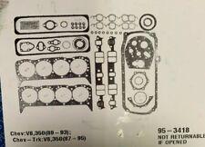 "Chevy//GMC 4.8L Sierra Silverado Express Crankshaft Main Bearings 1999-13 .030/"""