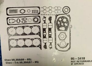 1989-1993 CHEVY V8, 350 TBI Engine Kit ReRing
