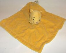 WINNIE THE POOH  crib toy  Disney  soft velour security blanket - & a gift