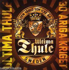 Ultima Thule - 30 Ariga Kriget cd punk Oi! THULE Pagan Viking Midgard THOR folk