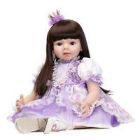 28'' Toddler Reborn Baby Girl Dolls Realistic Lifelike Princess Girl Kids Gift