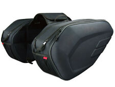 58L Large Capacity Multi-use Expandable Motorcycle Seat Luggage Saddle Side Bags
