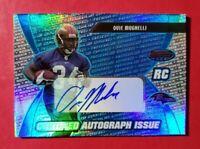 2003 Bowman's Best #169 *BLUE* OVIE MUGHELLI Ravens RC Auto #(/499)  *FREE SHIP*